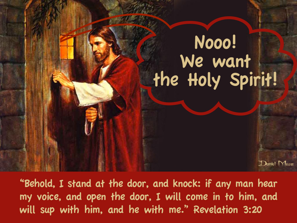 holy spirit knock people - HD 1024×768