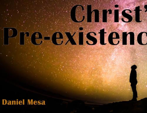 Christ's Pre-existence