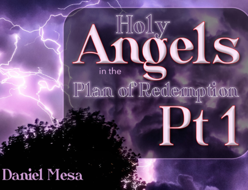 Holy Angels in the Plan of Redemption