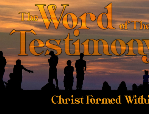 Christ Formed Within, by Andrew White