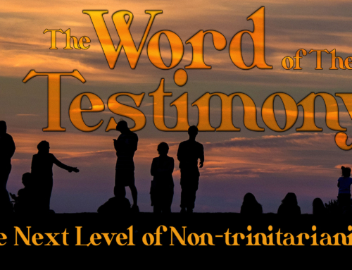 The Next Level of Non-trinitarianism, by Devin Neubrander