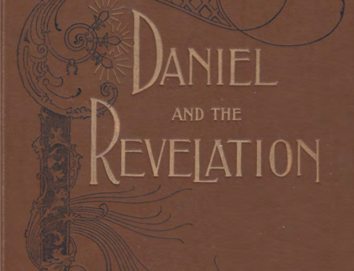1897 Thoughts on Daniel and the Revelation by Uriah Smith Scanned PDF Book