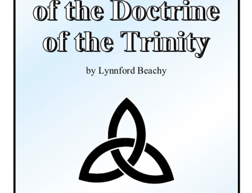The Formulation of Doctrine of the Trinity PDF
