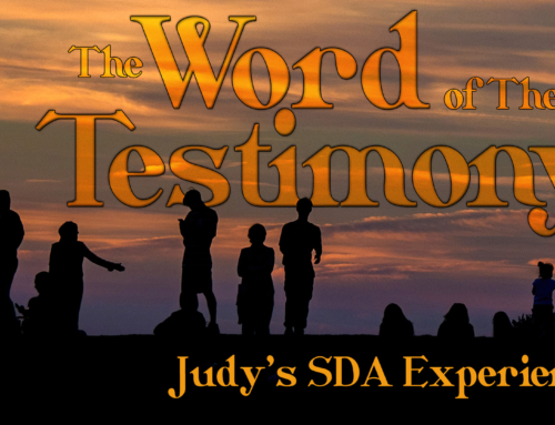 Judy Palermo's Experience in the SDA Conference Church