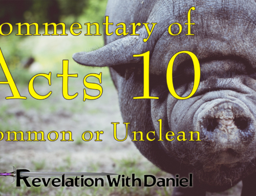 Acts 10 – Common or Unclean