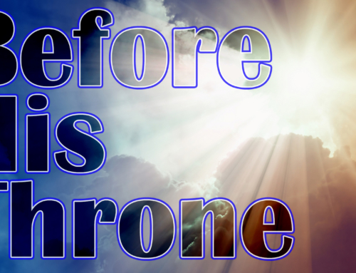 Before His Throne in the Revelation