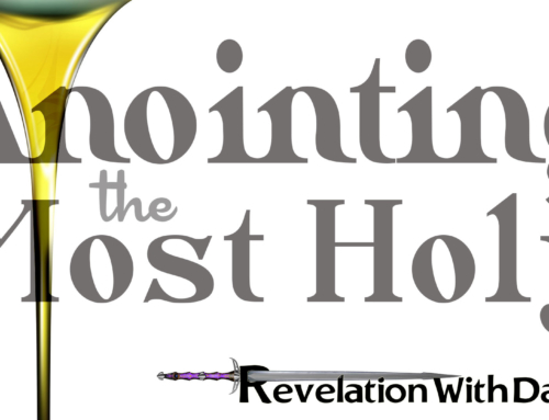 Anointing the Most Holy
