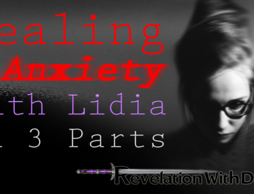 Dealing with Anxiety – with Lidia (a three part series)