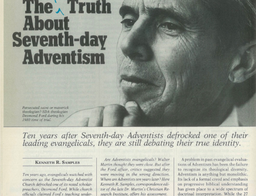 The Recent Truth About Seventh-day Adventism – by Christianity Today
