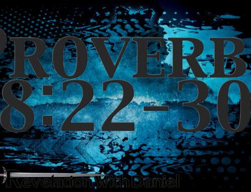 Proverbs 8:22-30